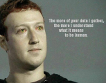 Zuckerberg as Star Trek Android