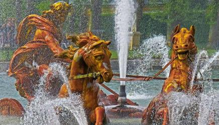 Chariot of Apollo, fountain at Versailles