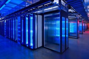 Facebook Server Room